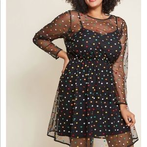 Dotted Dress - ModCloth